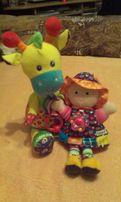 Lamaze куколка и жираф