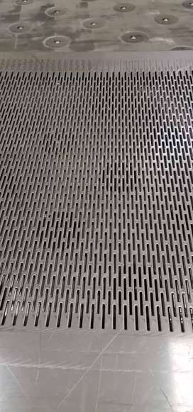 Perforated sheeting and forming