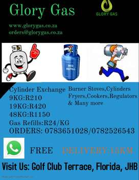 LPG GAS Exchange and Refills