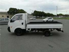 Kia truck/bakkie for hire+driver free labour at a very affordable pric