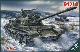 Сборная модель SKIF Танк Т-55А (МК221)