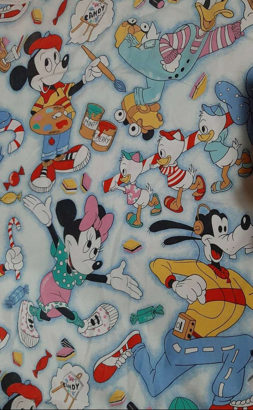 Mickey mouse single duvet cover set 0