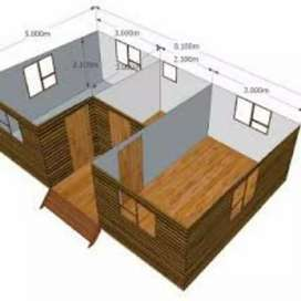 We do nutec house and Wendy House