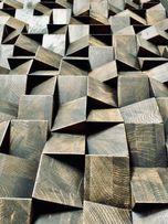 Пано из дерева Настенная мозаика 3D панель Декор стен