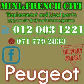 USED PEUGEOT  SPARES FOR SALE