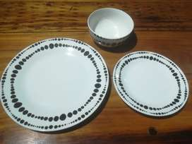 Plates, Dinner R12, Side R7 and Soup R8