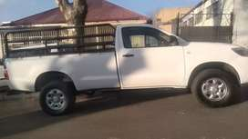 TOYOTA HILUX 2.5 D4D SINGLE CAB HIGH RIDER WITH SPARE KEYS