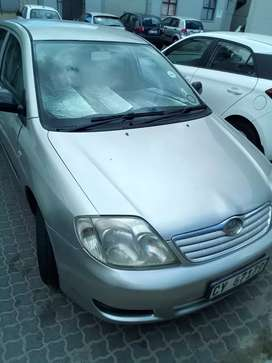 I'm selling my car agently because of I don't have parking