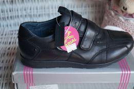 Туфли для мальчика, новые, черные, размеры 35, 36