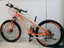 SupaBike 26 inch Mountain Bicycle - Alloy Double Wall Front Suspension