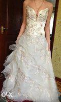 продам свадебное, выпускное платье.