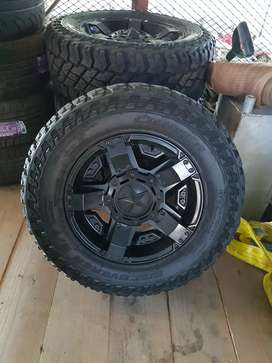 17 wheels and tiers