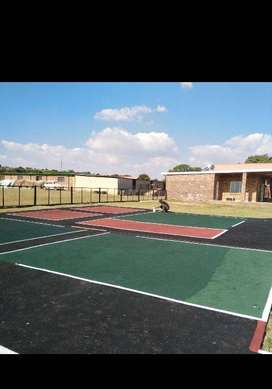 INDUSTRIAL AND DOMESTIC TAR SURFACING,PAVING AND ALL SPORTING COURTS