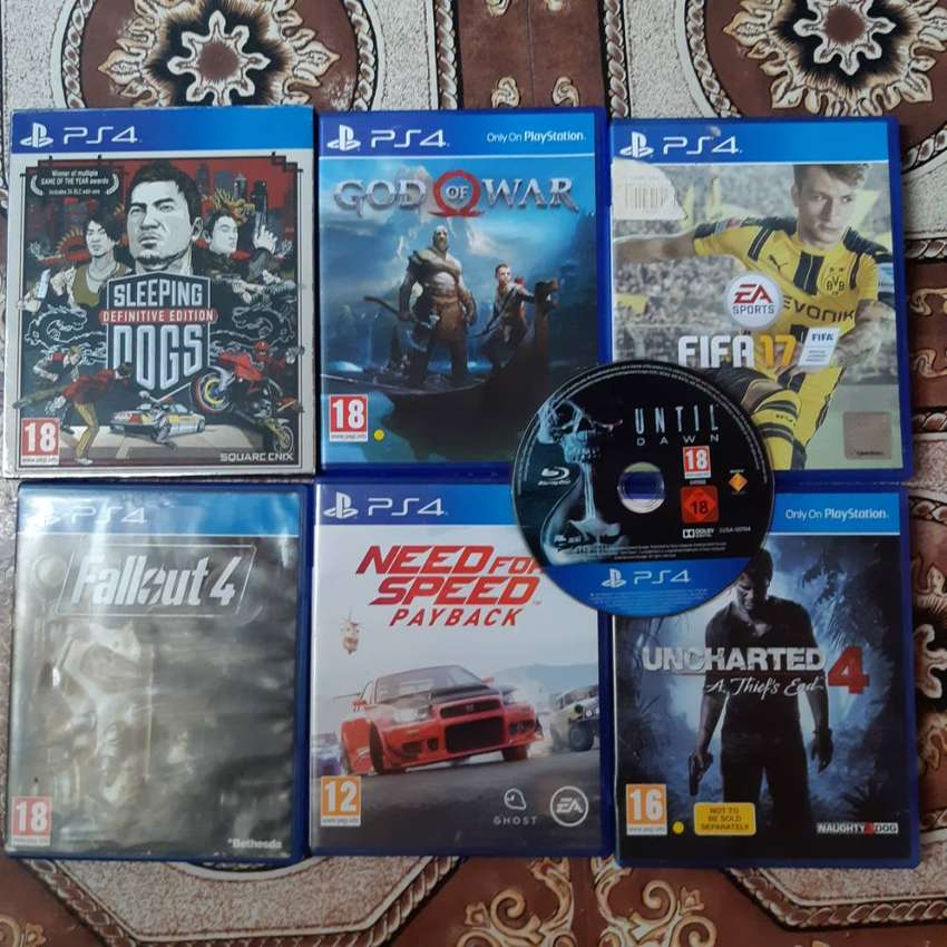 Ps4 games for sale 0