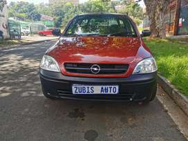Opel corsa with an engine capacity 1,4