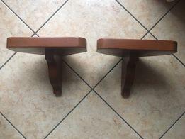 Półki lite drewno