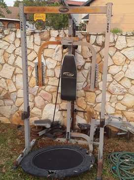 TROJAN POWER CAGE ABS EQUIPMENT (MAKE A OFFER)