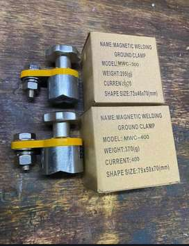 Magnetic 300A welding clamp