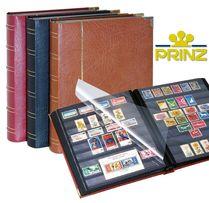 Кожаный альбом для марок - немецкий кляссер фирмы Prinz Royal