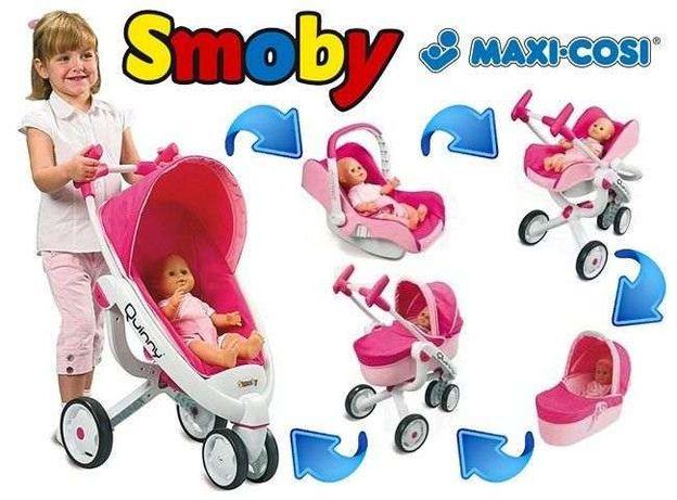 2 ПО ЦЕНЕ 1 Коляска трансформер 4 в 1 куклы Maxi Cosi Smoby 550389 Луцк - изображение 2