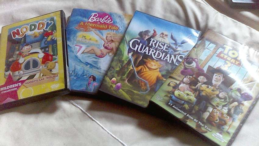 DVD Combo: Noddy, Barbie, Toy Story 3 and Rise of the Guardians 0