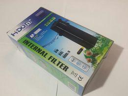NOWY Filtr wody 600L/H wewnetrzny do AKWARIUM