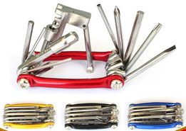 Вело мультитул 11 в 1 с выжимкой цепи инструмент ключи ремнабор тулз