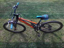Mountain bike 24 inch. 21 gears. In excellent condition.