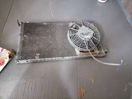 Mitsubishi colt 2.8 tdi aircon radiator with fan
