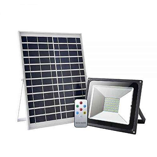Solar floodlight 50W auto switch on and off 0