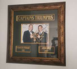 Springbok Rugby World Cup Captains Signed