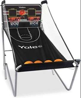 Yoleo Indoor Basketball Arcade Game, Official Dual Shot Sport 10 Games