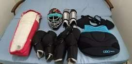 Cricket Pads and hockey goalie kit