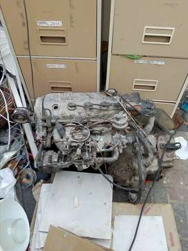 Complete engine ND gearbox