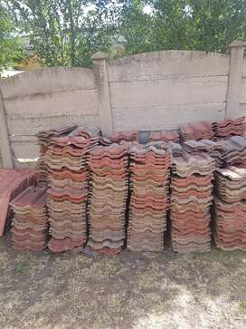 Coverland double Roman secpnd hand roof tiles