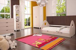 Wyprzedaż! Łóżko dziecięce Pola z szufladami + materac GRATIS + KOLORY