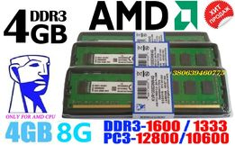 Память Kingston DDR3-1333 4096MB PC3-10600 (KVR1333D3N9/4G) AM3/AM3+