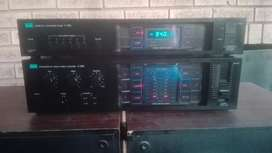 Sansui amplifier and tuner for sale.