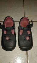 Туфли Clark's 24р, кожа по стельке 15см