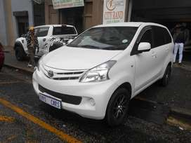 TOYOTA AVANZA 1.5 SX 2013 MODEL