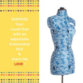 My Double - Small Adjustable Mannequin / Dolls / Sewing Dolls / Tailor