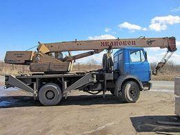 Аренда крана 10-25-30-40 тон Киев,Ирпень и обл.