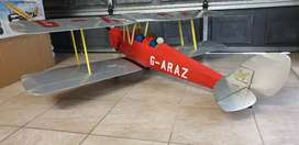 RC Tiger Moth 1/4.5 Scale Airframe and Servos