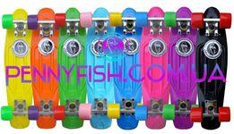 Скейтборд/скейт пенни борд (Penny Board) Fish Оригинал 8 цветов Польша