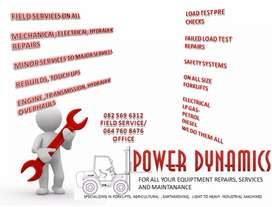 Forklift repairs and maintenance Services