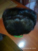 Меховая шапка, норковая.