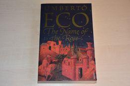 """The name of the Rose"" Umberto Eco, książka po angielsku"