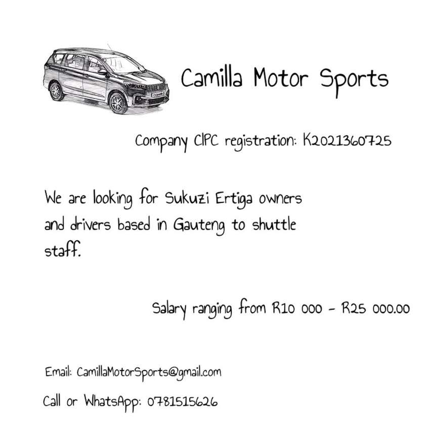 Looking Suzuki Ertiga owners or drivers