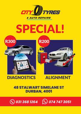 Boom! Visit City Tyres &  Auto Repair For Your Car Service And Mai