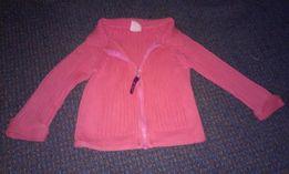 Ciepłe dzianinowe sweterki rozpinane 110 cm 3-4 lata